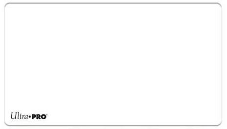 Ultra pro 82889 solide weiß Spielen Mat   eBay