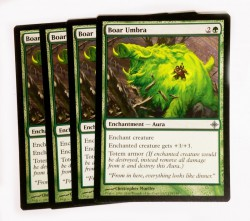 4x Boar Umbra ! Rise of the Eldrazi ! Magic ! engl. NM