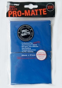 100 Ultra Pro Card Protector Sleeves : Pro-Matte - Farbe auswählen - 66 x 91mm – Bild 2