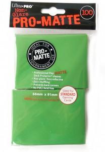 100 Ultra Pro Card Protector Sleeves : Pro-Matte - Farbe auswählen - 66 x 91mm – Bild 4