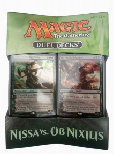 Nissa vs. Ob Nixilis Magic the Gathering Duel Decks englisch MtG