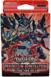 Yu-Gi-Oh ! Pendulum Domination Structure Deck deutsch