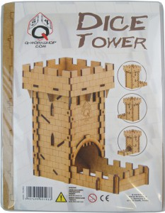 Human Dice Tower - Q-Workshop - Würfelturm