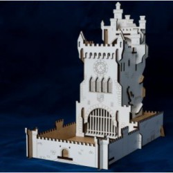 Blackfire Dice Tower - White Castle Würfelturm Dicetower