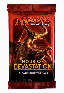 Hour of Devastation Booster Pack englisch - MtG Magic the Gathering