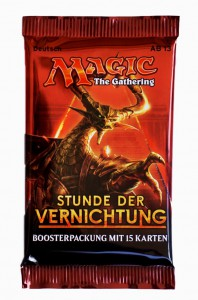 Stunde der Vernichtung Booster Pack deutsch - MtG Magic the Gathering