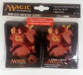 Magic the Gathering Sleeves Mana 4 (80) Rot - Red - Chandra