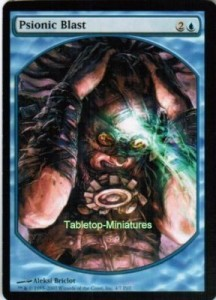 1x Psionic Blast ! PLAYER REWARDS PROMO engl. NM Magic the Gathering