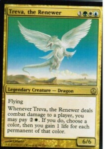 1x Treva, the Renewer ! Duel Decks ! engl. NM!