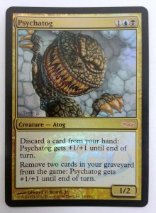 1x Psychatog ! PLAYER REWARDS PROMO FOIL ! engl. NM Magic MtG