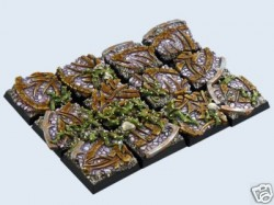 gestaltete Bases : Dark Temple Bases, 20x20mm (5)