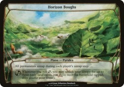1x Horizon Boughs GATEWAY PROMO! PLANECHASE engl. NM