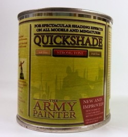 The Army Painter : Quickshade (99,16€ pro l) Strong Tone - Quick Shade
