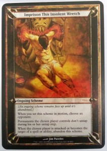 1x Imprison this Insolent Wretch GATEWAY PROMO! engl. NM MtG