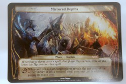 1x Mirrored Depths GATEWAY PROMO! PLANECHASE engl. NM Magic Karte