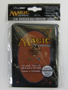 24 Ultra Pro Oversized Hüllen / Sleeves - Magic Card Back (92x129,4mm)