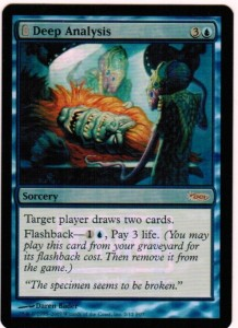 1x Deep Analysis FNM Promo Foil Karte ! engl. NM MtG Magic