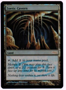 1x Zoetic Cavern Gateway PROMO FOIL ! engl. NM Magic MtG