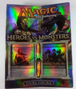 Heroes vs. Monsters MtG Magic the Gathering Duel Decks englisch