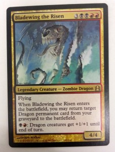1x Bladewing the Risen ! Commander ! engl. NM ZOMBIE DRAGON