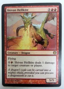 1x Shivan Hellkite ! Duel Decks Knights vs. Dragons engl. NM