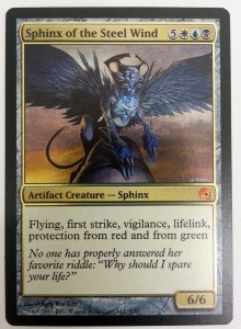 1x Sphinx of the Steel Wind Foil ! PDS Graveborn ! engl. NM MtG