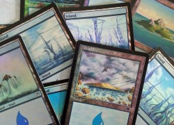 1x FOIL ISLAND / INSEL ! Magic the Gathering Basic Land