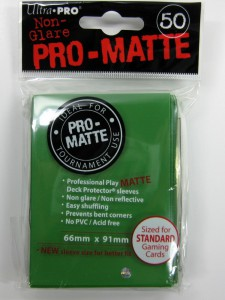 50 Ultra Pro Card Protector Sleeves : Pro-Matte - Farbe auswählen - 66 x 91mm – Bild 12