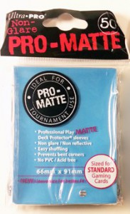 50 Ultra Pro Card Protector Sleeves : Pro-Matte - Farbe auswählen - 66 x 91mm – Bild 4