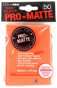 50 Ultra Pro Card Protector Sleeves : Pro-Matte - Farbe auswählen - 66 x 91mm – Bild 7