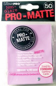 50 Ultra Pro Card Protector Sleeves : Pro-Matte - Farbe auswählen - 66 x 91mm – Bild 8