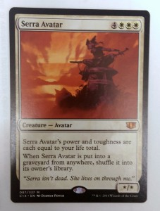 1x Serra Avatar ! Commander 2014 ! engl. NM Magic Karte