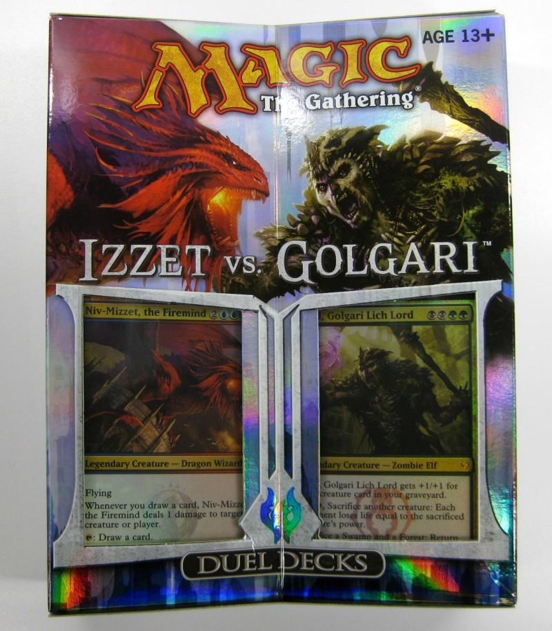 Duel Decks Izzet vs. Golgari (englisch) Magic the Gathering Planeswalker Anthology